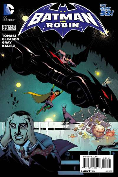 Batman and Robin #39 comic books for sale