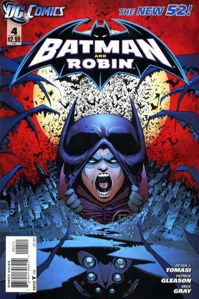 Batman and Robin #4 comic books - cover scans photos Batman and Robin #4 comic books - covers, picture gallery