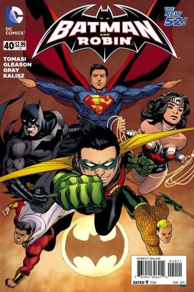 Batman and Robin #40 comic books for sale