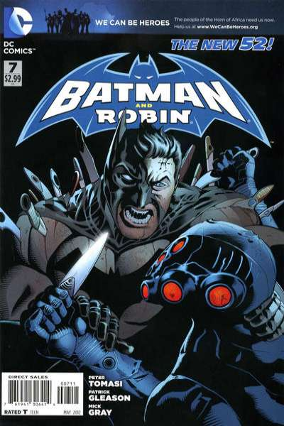 Batman and Robin #7 Comic Books - Covers, Scans, Photos  in Batman and Robin Comic Books - Covers, Scans, Gallery