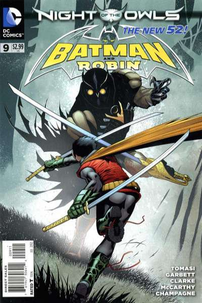 Batman and Robin #9 comic books - cover scans photos Batman and Robin #9 comic books - covers, picture gallery