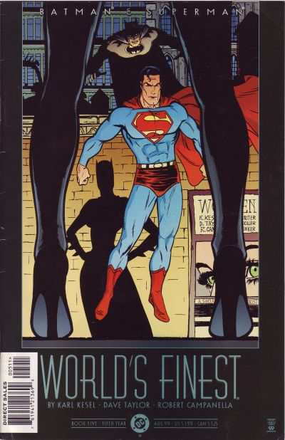 Batman and Superman: World's Finest #5 comic books - cover scans photos Batman and Superman: World's Finest #5 comic books - covers, picture gallery