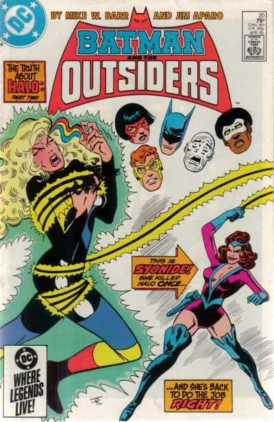 Batman and the Outsiders #20 comic books for sale