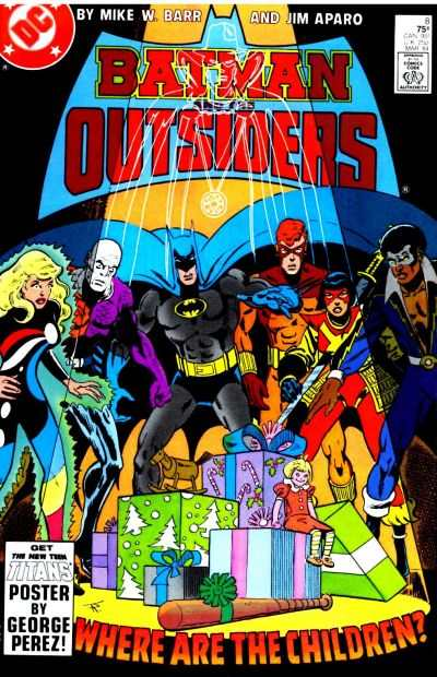 Batman and the Outsiders #8 comic books for sale