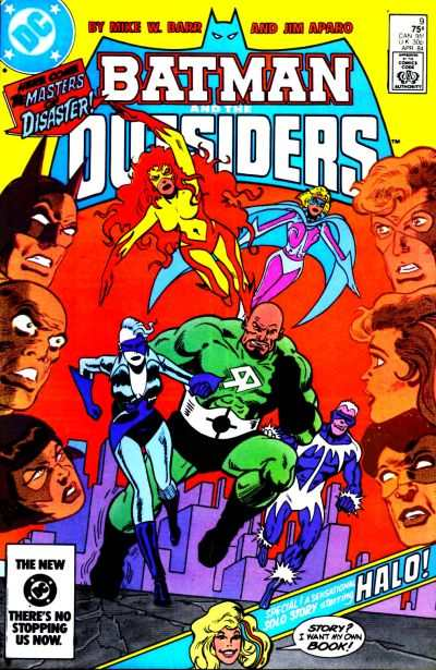 Batman and the Outsiders #9 comic books for sale