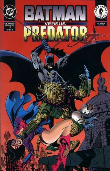 Batman versus Predator II: Bloodmatch #4 Comic Books - Covers, Scans, Photos  in Batman versus Predator II: Bloodmatch Comic Books - Covers, Scans, Gallery