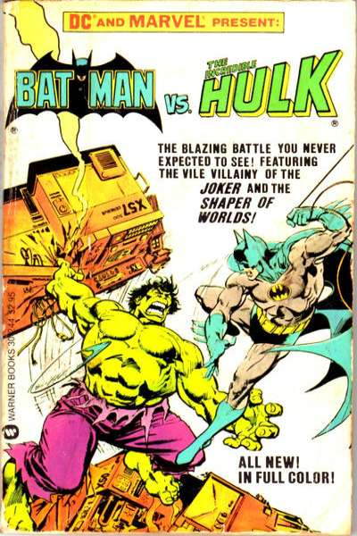 Batman vs. the Incredible Hulk Comic Books. Batman vs. the Incredible Hulk Comics.