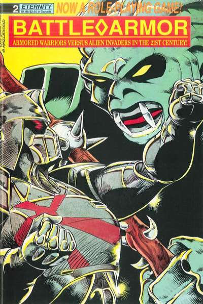 Battle Armor #2 comic books - cover scans photos Battle Armor #2 comic books - covers, picture gallery