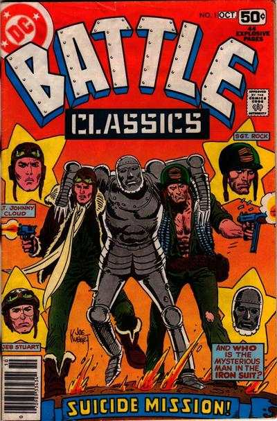 Battle Classics #1 Comic Books - Covers, Scans, Photos  in Battle Classics Comic Books - Covers, Scans, Gallery