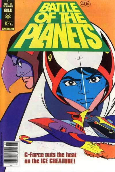 Battle of the Planets #2 Comic Books - Covers, Scans, Photos  in Battle of the Planets Comic Books - Covers, Scans, Gallery