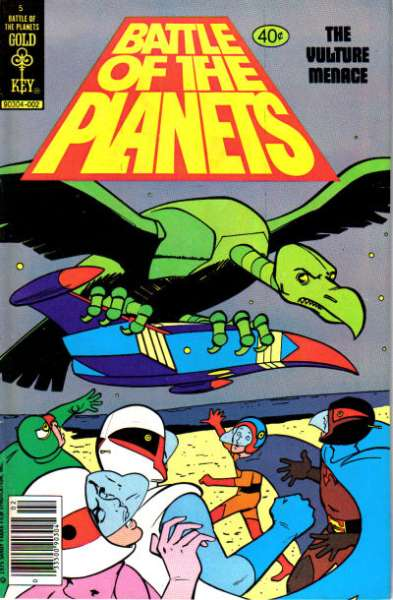 Battle of the Planets #5 cheap bargain discounted comic books Battle of the Planets #5 comic books