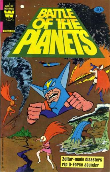 Battle of the Planets #9 comic books for sale