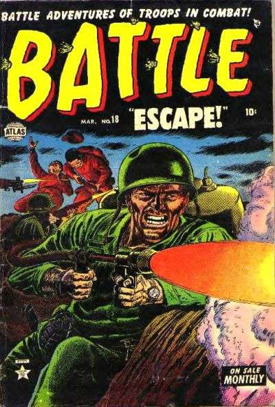 Battle #18 Comic Books - Covers, Scans, Photos  in Battle Comic Books - Covers, Scans, Gallery