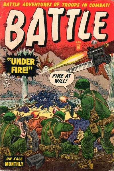 Battle #19 Comic Books - Covers, Scans, Photos  in Battle Comic Books - Covers, Scans, Gallery
