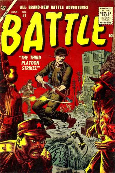 Battle #51 Comic Books - Covers, Scans, Photos  in Battle Comic Books - Covers, Scans, Gallery