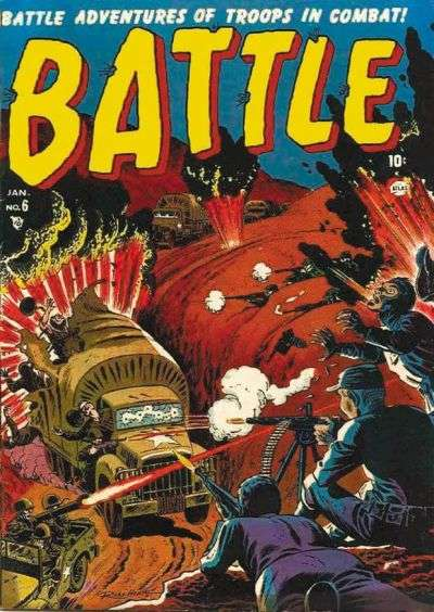 Battle #6 Comic Books - Covers, Scans, Photos  in Battle Comic Books - Covers, Scans, Gallery