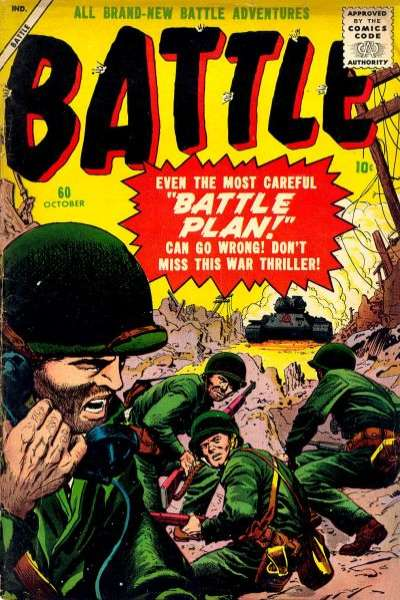 Battle #60 Comic Books - Covers, Scans, Photos  in Battle Comic Books - Covers, Scans, Gallery