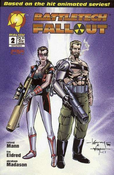 Battletech Fallout #2 Comic Books - Covers, Scans, Photos  in Battletech Fallout Comic Books - Covers, Scans, Gallery