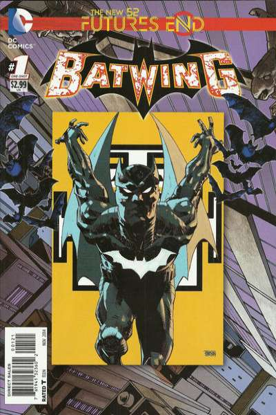 Batwing: Futures End comic books