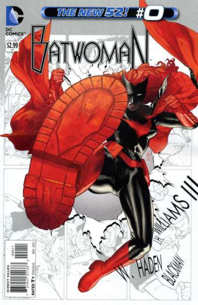 Batwoman #0 comic books - cover scans photos Batwoman #0 comic books - covers, picture gallery