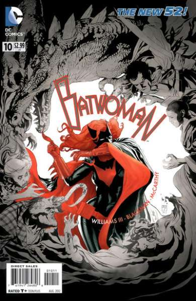 Batwoman #10 comic books - cover scans photos Batwoman #10 comic books - covers, picture gallery