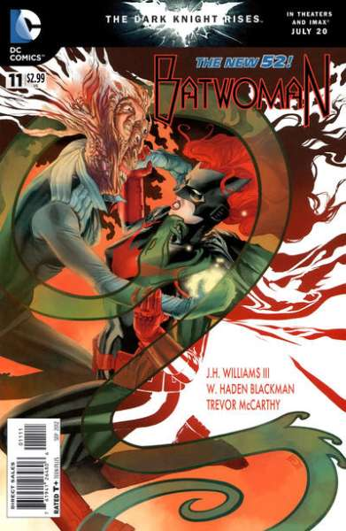 Batwoman #11 comic books - cover scans photos Batwoman #11 comic books - covers, picture gallery