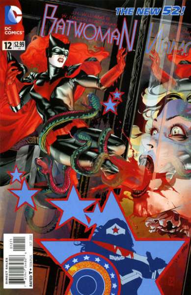 Batwoman #12 Comic Books - Covers, Scans, Photos  in Batwoman Comic Books - Covers, Scans, Gallery