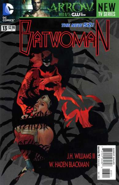 Batwoman #13 Comic Books - Covers, Scans, Photos  in Batwoman Comic Books - Covers, Scans, Gallery