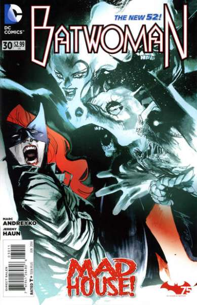 Batwoman #30 Comic Books - Covers, Scans, Photos  in Batwoman Comic Books - Covers, Scans, Gallery