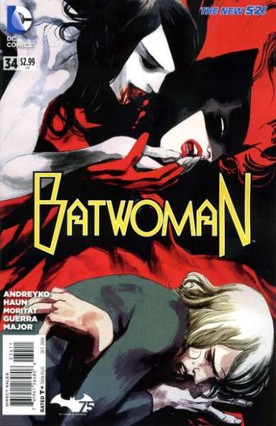 Batwoman #34 Comic Books - Covers, Scans, Photos  in Batwoman Comic Books - Covers, Scans, Gallery