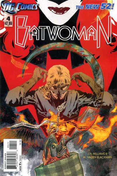 Batwoman #4 comic books - cover scans photos Batwoman #4 comic books - covers, picture gallery