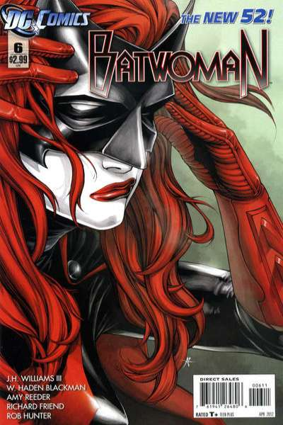 Batwoman #6 Comic Books - Covers, Scans, Photos  in Batwoman Comic Books - Covers, Scans, Gallery