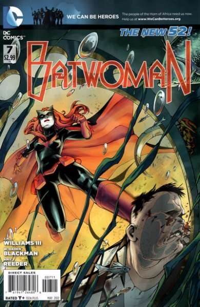 Batwoman #7 comic books - cover scans photos Batwoman #7 comic books - covers, picture gallery