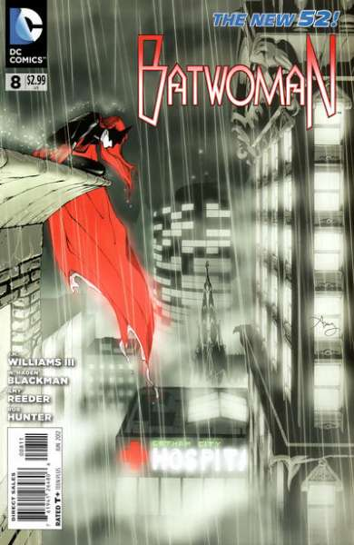 Batwoman #8 Comic Books - Covers, Scans, Photos  in Batwoman Comic Books - Covers, Scans, Gallery