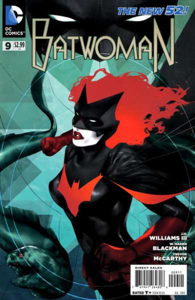 Batwoman #9 comic books - cover scans photos Batwoman #9 comic books - covers, picture gallery