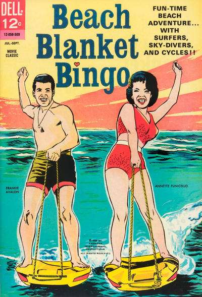 Beach Blanket Bingo comic books