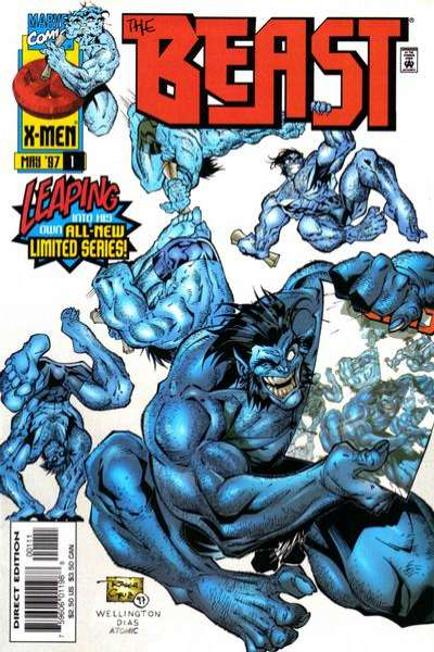 Beast comic books
