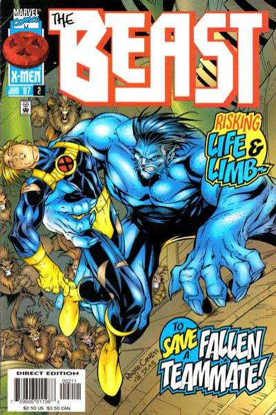 Beast #2 Comic Books - Covers, Scans, Photos  in Beast Comic Books - Covers, Scans, Gallery
