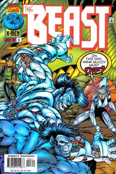 Beast #3 Comic Books - Covers, Scans, Photos  in Beast Comic Books - Covers, Scans, Gallery