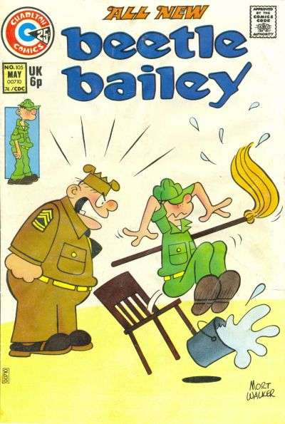 Beetle Bailey #105 comic books for sale