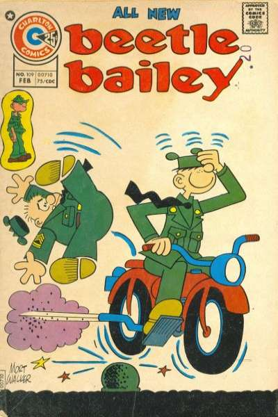 Beetle Bailey #109 comic books for sale