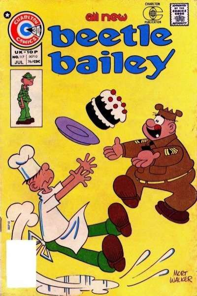 Beetle Bailey #117 comic books for sale