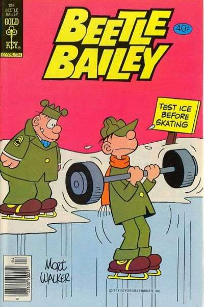 Beetle Bailey #126 comic books for sale