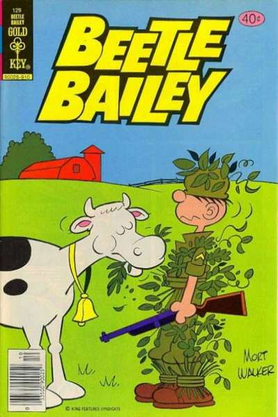 Beetle Bailey #129 comic books for sale
