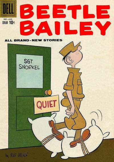 Beetle Bailey #18 comic books for sale