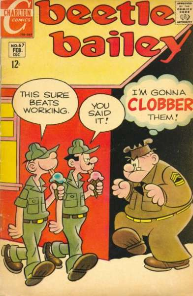 Beetle Bailey #67 comic books for sale