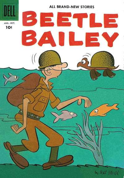 Beetle Bailey #7 comic books for sale