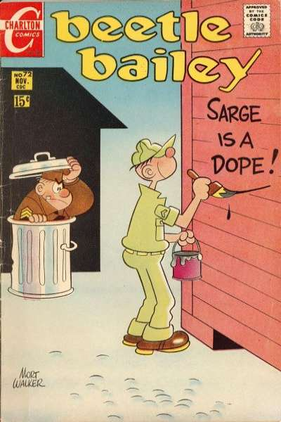 Beetle Bailey #72 comic books for sale