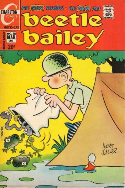 Beetle Bailey #88 comic books for sale