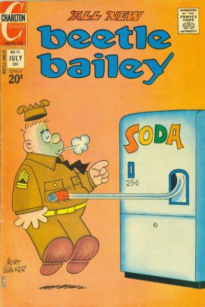 Beetle Bailey #91 comic books for sale